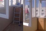 Уборка балкона